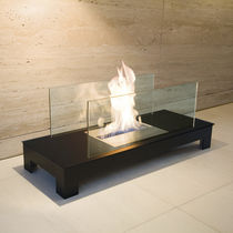 contemporary fireplace (bioethanol open hearth) FLOOR FLAME RADIUS DESIGN
