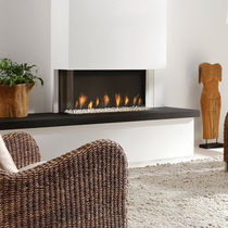 contemporary fireplace (gas closed hearth) TRISORE 95 Element4 B.V.