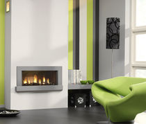 contemporary fireplace (gas closed hearth) METRO 70 Platonic Fireplace