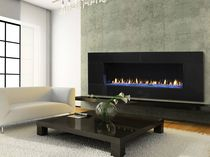 contemporary fireplace (gas open hearth) RED SERIES HEAT & GLO