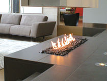 contemporary fireplace (gas open hearth) LINEAR BURNER  SPARK modern fires