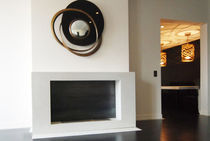 contemporary fireplace (bioethanol open hearth) KUB  GALERIE TAPORO
