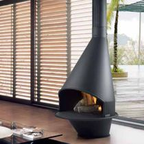 contemporary fireplace (wood-burning open hearth) OVIEDO Traforart