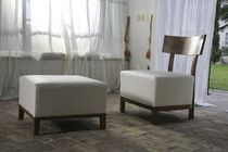 contemporary fireside chair KAIROS INTERIOR BELTRAMINI