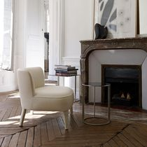 contemporary fireside chair by Antonio Citterio FEBO MAXALTO