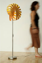contemporary floor lamp in recycled material (recyclable) FRACTAL by Rebecca Asquith rebecca asquith furniture object