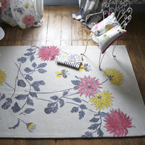 contemporary floral patterned rug AMALA PEONY DESIGNERS GUILD