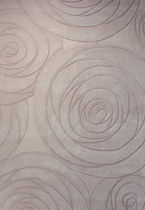 contemporary floral patterned rug SELECTED NATURE : CARVING ART ESPRIT home - Wecon home