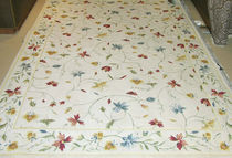 contemporary floral patterned rug 	 STARK CARPET
