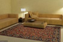 contemporary floral patterned rug in wool VENETA Willard Custom Carpets