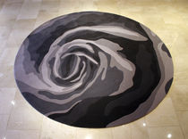 contemporary floral patterned rug (round) ENGLISH ROSE CH Rugs
