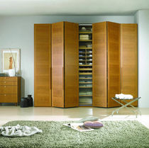 contemporary folding door wardrobe NATURA CARRE furniture