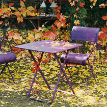contemporary folding garden table (metal) PLEIN AIR by Pascal Mourgue FERMOB