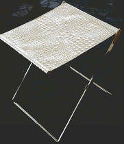 contemporary folding stool PIEGO' by Mauro Vegliante con Extrabilia