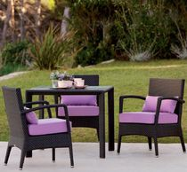 contemporary garden armchair FEELINGS : AMBERES POINT