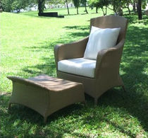 contemporary garden armchair with footstool TF 1110 Nature Corners Co.,Ltd.
