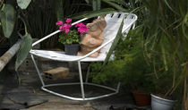 contemporary garden armchair CLOUD by Carlo Colombo  Arflex