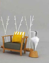 contemporary garden armchair TIERA Deesawat Industries