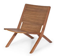 contemporary garden armchair RAY-X by Tom Kelley  JAVORINA