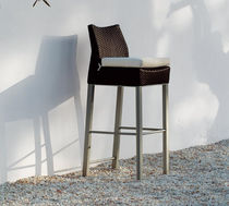 contemporary garden bar chair BIARRITZ by Jorge Pensi TRICONFORT