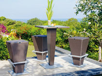 contemporary garden bar stool LIADA SKY LINE DESIGN