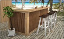 contemporary garden bar stool  Outdoor Comforts