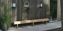 contemporary garden bench LING by Pär Malmvall BERGA FORM