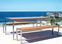 contemporary garden bench GARDEN COURT Harbour Outdoor
