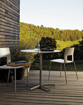 contemporary garden chair KOBE by Piergiorgio Cazzaniga DESALTO spa