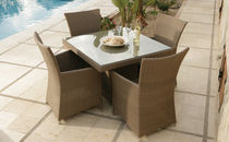 contemporary garden chair with armrests SEA BREEZE SKY LINE DESIGN