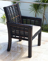 contemporary garden chair with armrests TOPAZ SKY LINE DESIGN