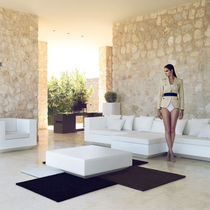 contemporary garden coffee table VELA by Ramon Esteve VONDOM