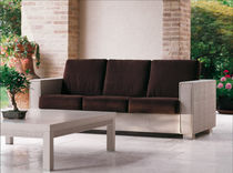 contemporary garden coffee table MILLENNIUM Rattan Wood
