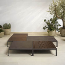 contemporary garden coffee table SAND by Lievore Altherr Molina Andreu World