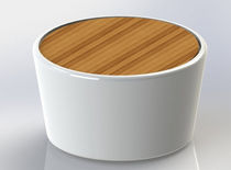 contemporary garden coffee table OTIUM BASSO Otium Design
