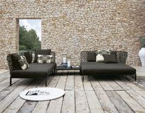 contemporary garden daybed RAVEL by Patricia Urquiola B&B Italia