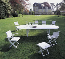 contemporary garden folding chair ELYS&Eacute;E TRICONFORT