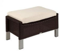 contemporary garden footstool BIARRITZ by Jorge Pensi TRICONFORT