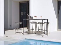 contemporary garden high bar table OCEAN CLUB RAUSCH Classics GmbH