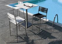 contemporary garden high bar table (metal) LIFT Bonacina Pierantonio