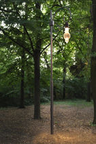 contemporary garden lamp post ALVALINE: MASSIMA PALO by Mario Nanni Viabizzuno