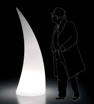 contemporary garden lamp post HORN by Alberto Brogliato PLUSt COLLECTION by EURO 3 PLAST