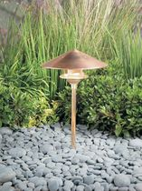 contemporary garden lamp post CONE HOOD KIM Lighting