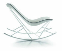 contemporary garden rocking armchair THINKING MACHINE by Eduardo Baroni Sintesi