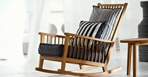 contemporary garden rocking armchair (teak) INOUT 709 by Paola Navone GERVASONI - Contract Division