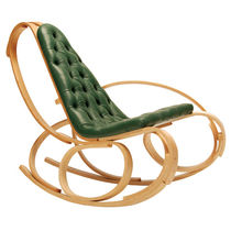 contemporary garden rocking chair in certified wood (FSC-certified)  Tom Raffield