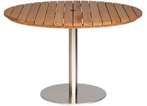 contemporary garden round table ANTIBES Pavilion rattan