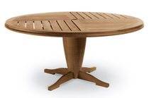 contemporary garden round table (teak) GAUGUIN by John Hutton SUTHERLAND