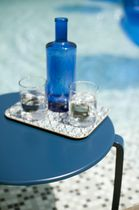 contemporary garden side table (stacking) ALIZE by Pascal MOURGUE FERMOB