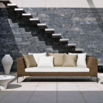 contemporary garden sofa by Antonio Citterio CHARLES OUTDOOR B&B Italia
